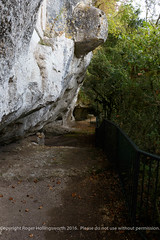 La Roque Saint Christophe, Dordogne; an amazing troglodyte town