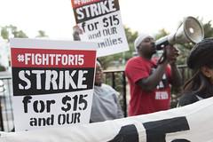 Fight for $15 demonstrations in Las Vegas, morning (FreezeTimeDigital) Tags: lasvegas nv usa mcdonalds fightfor15 thestrip protest demonstration minimumwage nikond750