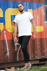 _CLE9112-Editar (Cleison Silva) Tags: boy modelo barba oculos indie azul sopaulo barueri urbano art retrato