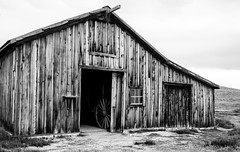 Old barn (Holly Calinsky Jauch) Tags: ghosttown bodie