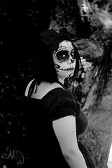 (Mithsue) Tags: caveira mexicana cosplay creepy halloween girl makeup skull