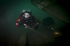 20161119-Capernwray3 (Dacmirc) Tags: diving uk ukdiving rebreather capernwray cold underwater scuba otter drysuit