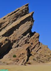 VasquezRocks182 (mcshots) Tags: usa california socal losangelescounty vasquezrocks rockformations rocks desert sky travel nature stock mcshots aguadulce
