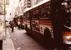 ca1983-SCRTD-bustraffic-001 (Metro Transportation Library and Archive) Tags: scrtd southerncaliforniarapidtransitdistrict busexterior boarding dtla