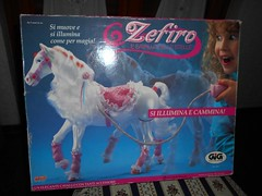 Zefiro (Starlight) by Kenner (ItalianToys) Tags: toy toys giocattoli giocattolo cavallo cavalli horse horses zefiro starlight kenner