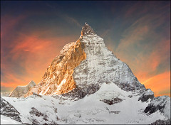 One of many faces (Katarina 2353) Tags: landscape matterhorn zermatt switzerland katarina2353 katarinastefanovic