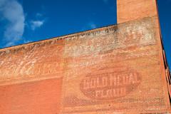 20161121-135645 (weaverphoto) Tags: shamokin pennsylvania unitedstates ghostsign sign billboard advertising goldmedalflour