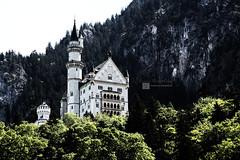 Neuschwanstein (Alejandro Mateos Rubn) Tags: neuschwanstein travel germany nature landscape castle