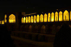 iran_006 (muddycyclist) Tags: panasonic lumix lx7 iran isfahan esfahan bridge night