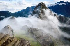 In the cloud (JanJungerius) Tags: peru machupicchu mountains bergen berge clouds wolken nubes landschaft landschap landscape worldheritagesite nikond750 tamronsp2470mm inca platinumheartaward