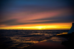 Seascape and sunset (Ola.Orion) Tags: seascape dusk sunset sea ocean december sweden skne harbor nikon d600