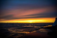 Seascape and sunset (Ola.Orion) Tags: seascape dusk sunset sea ocean december sweden skne harbor nikon d600