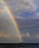 Roy G Biv (noblerzen) Tags: weather clouds rain forcedperspective palmtrees tropical island rainbow d500 nikon maldives