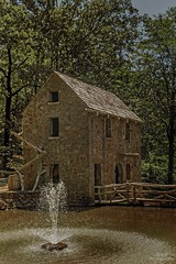 Old Mill (maria manuela photography) Tags: exploreusa travel photography traveldestination tourism adventure ontheroad perspective traveltourism holidays texture trees green forest country countrylife arkansas usa usaadventures unitedstates littlerock mill oldmill