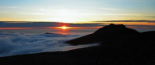 Cadair Idris - Sunset and Inversion 2