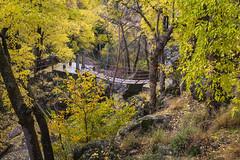 Spain - Granada - Monachil - Los Cahorros Footpath (Marcial Bernabeu) Tags: bridge puente marcial bernabeu bernabu spain espaa andaluca andalucia andalusia granada monachil cahorros loscahorros sendero footpath path trail senderismo otoo autumn fall