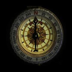 Due North (wwwwendyg) Tags: macromondaysarrowcompass