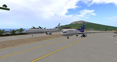 "Douglas DC-10 Size Comparison. (My Newest Kousara's Charters Fleet ""DC-10-30F"") (anukmaneewong1260) Tags: secondlife aviation eg aircraft kousara charters airplane dc1030 dc1030f adventure air airport airliner cargo plane fleet secondlife:region=marimon secondlife:parcel=egaircraftcorpmarimonffrendzislands secondlife:x=234 secondlife:y=172 secondlife:z=42"