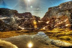 Tidepool Reflections (Michael F. Nyiri) Tags: lagunabeach southerncalifornia california ocean tidepools