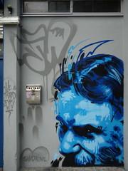 George Bernard Shaw, Half Moon, Cork (Canvassing Cork) Tags: street ireland urban irish streetart art bernard george mural theatre cork pantheon olympus urbanart writer operahouse shaw zuiko halfmoon 1454 dusto e410 gbshaw psychonautes canvassingcork