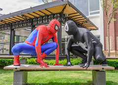 The Standoff (Cameron Knowlton) Tags: nikon comic spiderman super potd hero superhero heroes superheroes superheros heros venom d600