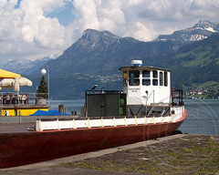 UNTERWALDEN Nauen Barge on Lake Lucerne, Ennetbrgen, Switzerland (jag9889) Tags: lake schweiz switzerland boat ship suisse suiza swiss luzern vessel ms svizzera lucerne barge ch vierwaldstttersee svizra nidwalden nauen unterwalden ennetbrgen