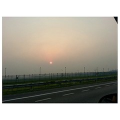 Even the sun looks sick today. #nofilter becomes like got filter like that. (iamshknx) Tags: android instagram andrography