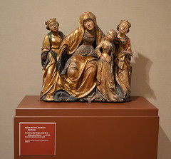Upper Bavaria, Southern Germany - St. Anne, the Virgin, and Two Attendant Saints, ca. 1520 (Wood with polychrome and gold) (elnina999) Tags: pictures show desktop people art colors museum modern bronze sanantonio painting artist gallery artistic contemporary framedart modernart tx paintings saints mosaics statues fair quadro exhibition canvas frame painter oilpaintings showcase figures database sculptures tradeshow artista woodcarvings spanishstyle pittore artnow workofart miart museumexhibition museumart mcnaymuseum paintinggallery modertart picturesgallery nikond5100