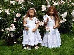 Rosenreslis im Schlossgarten (Kindergartenkinder) Tags: dolls schloss annette bellis jinka lembeck himstedt kindergartenkinder