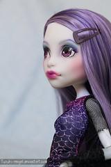 Spectra (Yuzuchan~) Tags: monster high doll day ooak picture spectra custom mh mattel vondergeist