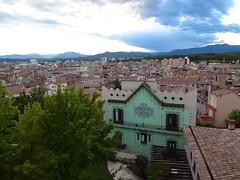 Girona backyards from the Walls Walk