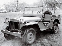 Willys MA prototype jeep, 1941.