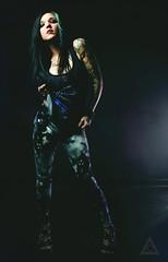 Jenny Von Vader (Jenny Von Rose) Tags: starwars darthvader alternativemodel nerdygirls sexycosplay tattoomodel inkedgirls starwarsgirl darthvadercosplay sexytattoomodel jennyvonrose