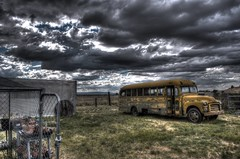 school bus 1955 clouds liberty freedom ominous 1954 depression schoolbus libertarian ci gmc hdr hoodornament carpenter 270 bieber mentalillness secondamendment 2ndamendment drb bigvalley usconstitution photomatix lassencounty gadsdenflag garyjohnson gadgetguru darronbirgenheier darronrbirgenheier bipolarphotographer