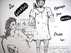 (Saheli!) Tags: illustration pen sketch drawing picasa feminism breathe patriarchy