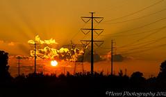IMG_5926-2 (Henri Photography) Tags: sunset orange landscape powerlines skyhenriphotography