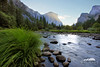 Gates of the Valley, Yosemite (Seth Berry Photography) Tags: california creek gates gatesofthevalley merced morning mountains national park reflection river stream summer sunrise valley yosemite yosemitenationalpark sethberryphotography