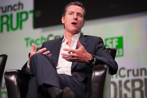 Gavin Newsom by jdlasica, on Flickr