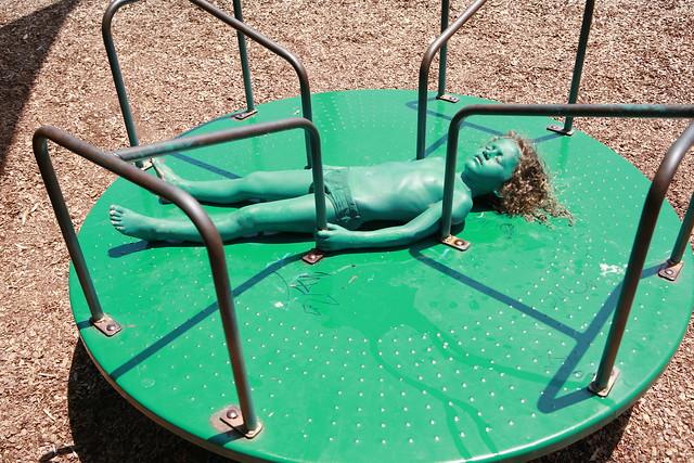 Bodypainting Child park