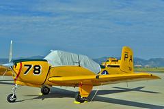 T-34B Mentor N7089X (skyhawkpc) Tags: airplane nikon aircraft aviation navy co naval usnavy usn beech mentor allrightsreserved bjc jeffco d600 2013 kbjc t34b vt1 rockymountainmetropolitanairport 140883 garyverver pa78 n7089x