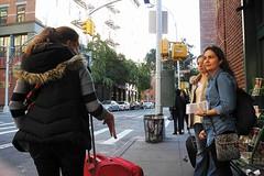 what's for dinner? (omoo) Tags: newyorkcity girls 3 westvillage streetscene girlfriends prettygirls greenwichvillage decisions whatsfordinner decisionmaking dagostinos whattoeat outsidesupermarket dscn9756 greenwichandbethunestreets 3girlswithlargesuitcases