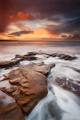 Rocky Island, Seaton Sluice (Alistair Bennett) Tags: sunset seascape evening rocks northumberland seatonsluice nd09 rockyisland canonef1740mm4lusm gnd045se