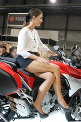 IMG_4909 (Brutale67589) Tags: girls woman milan sexy beauty bike promo candid babes eicma