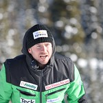 JP Daigneault - BC Team coaches on the job at Sun Peaks PHOTO CREDIT: Gordie Bowles