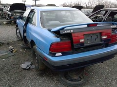 U Pull It (crinklycracks) Tags: car pull it u junkyard