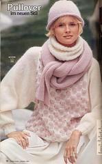 BURDA MODEN 1984 10a (Homair) Tags: vintage sweater fuzzy fluffy mohair burda