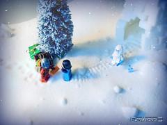 LEGO CHRISTMAS BOBA (3) (COLLECTOR FIGURES) Tags: santa christmas snow de star lego neige boba wars nol yeti jango fett minifigures