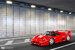 Tunnel (Raphal Belly Photography) Tags: charity red paris car de french rouge photography eos hotel fight riviera photographie aids ferrari casino montecarlo monaco mc belly exotic f 7d passion 50 raphael cinquante rosso rb supercar spotting supercars fifty f50 raphal principality 2013 sidaction