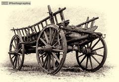 Broken down (C.M_Photography) Tags: wagon oldcart platinumheartaward