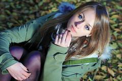 Blue Eyes (BlueMaury) Tags: autumn portrait girl beautiful beauty modeling gorgeous blueeyes portraiture blonde blondehair autunno ritratto bellezza ragazza beautifulgirl girlnextdoor posa modella ringexcellence dblringexcellence